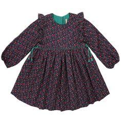 AOP dress AW17 - Tia-Aina Sweet Nostalgy collection #FallWinterCollection #AW17 #Robes #Modeenfant
