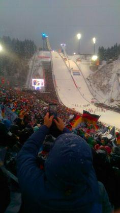 Sixty third Vierschanzentournee 2014 #Oberstdorf, #4hills, Abbruch wegen Wind und Schneefall