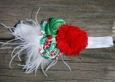 #LLA Pretty Sabby Flower Rosette Headband by PoshBabyStore.com