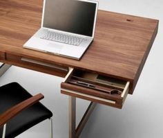 Modern Wood Office Furniture modern office desk small home office desks Ak 1340 Executive Desk By Nissen Gehl Mdd