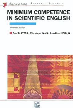 Propose une technique d'autoformation et permet d'accéder à une compétence minimale en ce qui concerne la lecture et l'écriture d'un texte en anglais scientifique. Conçu pour dépasser le stade d'apprenant pour devenir un utilisateur de l'anglais.