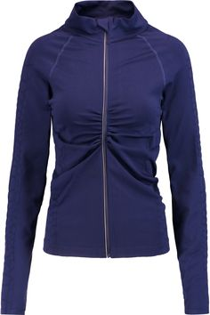 Yummie by Heather Thomson Vera Croc Effect-Trimmed Stretch-Jersey Jacket Athletic Outfits, Sport Outfits, Clothes For Sale, Clothes For Women, Discount Designer Clothes, Workout Wear, Active Wear, Sweatshirts, Jackets