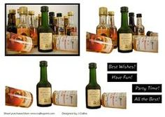 Alcohol Party Decoupage Sheet