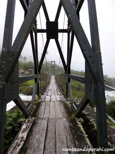 """""""Puentes"""" Camino del Choro, Bolivia - Rumbeando por Ahí"""