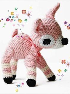 Amugurumi crochet pattern fawn