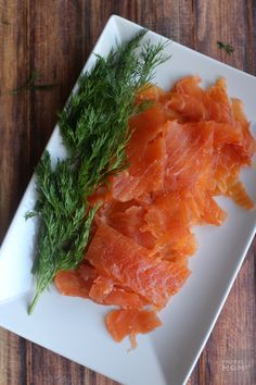 Homemade Gravlax is similar to lox but with a Norwegian twist that you will love.  It's all about the Dill!