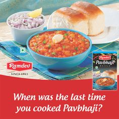 To make Pav Bhaji more delicious, make your kitchen your restaurant & get the taste from Pav Bhaji Masala from Ramdev. BDW, when was the last time you cooked Pav Bhaji?    For online orders - https://www.ramdevstore.com/    #Ramdev #OnlineStore #PavBhaji