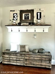 Good Ideas For You | Pallet Furniture Ideas Pallet rustic bench