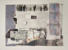 Sharon Glennon, #93 of 100 artists in Flash Art Show. (monoprint)