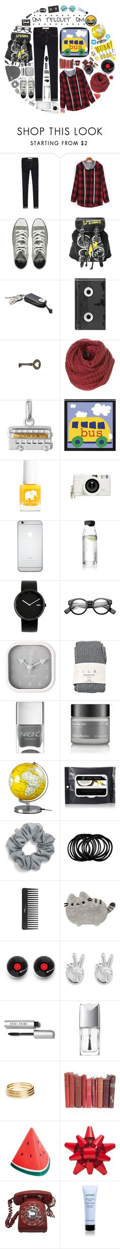 """Hunting : OM TELOLET OM XD"" by karlakasihtajaya ❤ liked on Polyvore featuring Abercrombie & Fitch, Converse, Hot Topic, Luckies, Links of London, Ella+Mila, Lomography, Menu, Alessi and ZeroUV"