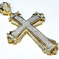 Befettly Tiny Cross Necklace, Women Gold Filled, Cross Gold, Size No Size – Fine Jewelry & Collectibles Diamond Tennis Necklace, Diamond Pendant Necklace, Cross Jewelry, Gold Jewelry, Cross Necklaces, Gold Chains For Men, Gold Cross, Swagg, Cross Pendant