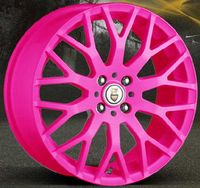 Alloy Wheels want! Pink Wheels, Rims For Sale, Pink Rims, Everything Pink, Alloy Wheel, My Ride, Car Accessories, Pink Stuff, Autos