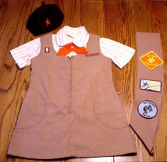vintage Brownie uniform