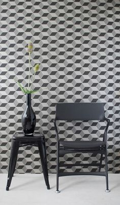 Geometric Wallpaper from Ferm Living