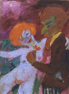 Emile Nolde (1867-1956) The Enthusiast