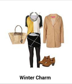 Casual winter chic