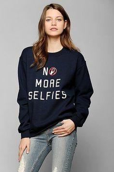 We're sick of selfies. Enough already!