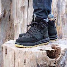 Nike Lunar Force 1 Duckboot Black/Black-Metallic
