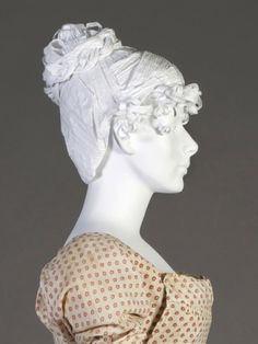 Very Recent project from Kent State University Museum. Here and 1810's wig. Getting warmer.