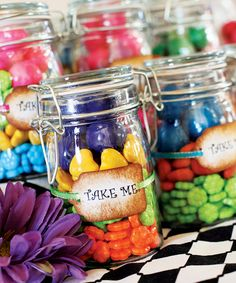 Whimsical Alice in Wonderland Birthday Party- favors