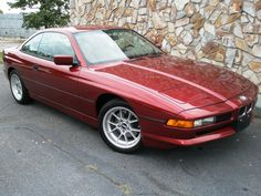 BMW 850i, they are rare and not too expensive, surprising !