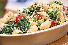 Delicious and easy broccoli pasta salad recipe for diabetics