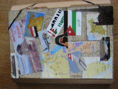 Scrapmap gemaakt in Fijnaart. 2009 Egyptevakantie. Voorzijde