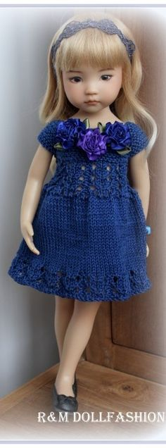 Knitted Dress for Little Darling Diana Effner