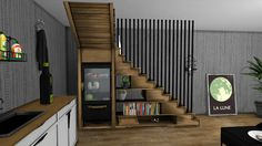Sims 4 CC's - The Best: Staircase by Leo Sims