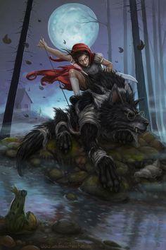 Little Red Riding Hood by AndreaChristen on DeviantArt