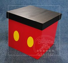 Mickey Party, Mickey Mousr, Fiesta Mickey Mouse, Mickey Mouse Parties, Diy Card Box, Mickey Mouse Clubhouse Birthday, Valentine Day Boxes, Disney Gift, Christmas Gift Box