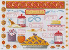 ˙·٠•●♥ ●•٠·˙Filo Ꮛ ℳagia ˙·٠•●♥ ●•٠·˙: Punto croce in cucina ^_^♥