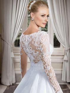 Vestidos de noiva - Coleção Callas (8) Detalhe costas                                                                                                                                                     Mais