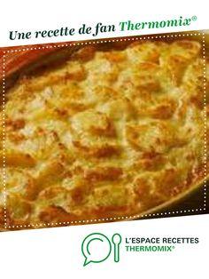 Gratin dauphinois comme autrefois par Laétyschu. Une recette de fan à retrouver dans la catégorie Accompagnements sur www.espace-recettes.fr, de Thermomix<sup>®</sup>.