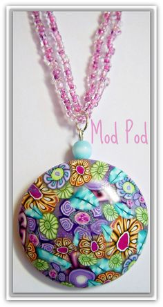 Mod Pod-hollow pod pendant