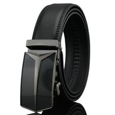 New Arrival - High Quality Genuine Leather Automatic Buckle Men's Belt //Price: $16.95 & FREE Shipping //     #Clothing