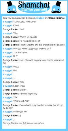 George eacker fuckin pwns this btch