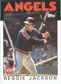 1986 Topps # 700 Reggie Jackson California Angels Baseball Card by Topps. $2.95. 1986 Topps #700 - Reggie Jackson