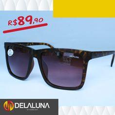 Estiloso e com detalhes em sua armação, esse óculos é perfeito para curtir um dia de sol onde quer que você esteja. Venha até uma de nossas lojas e confira esse e outros modelos que temos para você!