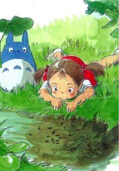 Mae & the tadpoles