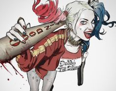 Suicide Squad Harley Quinn by Tiago Datrinti