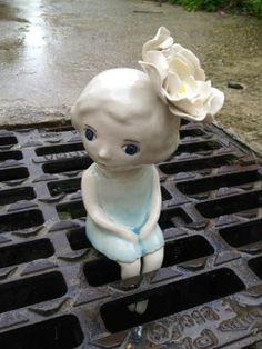 "i-love-art: "" Nathalie Choux "" Ceramic Mosaic Tile, Ceramic Clay, Ceramic Pottery, Ceramic Figures, Ceramic Artists, Sculptures Céramiques, Sculpture Art, Blog Art, Pottery Sculpture"