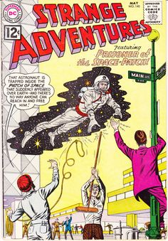 Strange Adventures 140 DC Comics Outer Space Adventures Aliens Astronauts 1962 VF- by LifeofComics #comicbook