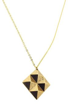 Square Necklace on HauteLook