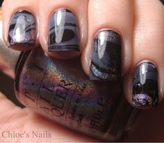 Marble nails -- for you @kelly frazier Margaret