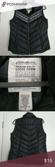 Eddie Bauer goose down vest Warm down vest. Premium quality goose down. Eddie Bauer Jackets & Coats Puffers