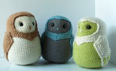A little barn owl love! These are amazing! Little Barn Owls by ~Aileen-Kailum on deviantART. For sale here: http://www.etsy.com/shop/bluephonestudios ☀CQ Thanks for sharing! ¯\_(ツ)_/¯  *Repinned from my Crochet Owls (Corona) board.