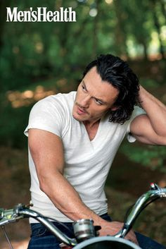 Luke Evans, Men's Health - Oh dear there are so many reasons to get excited about the new Hobbit movie.