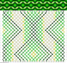 Muster # 60946, Streicher: 36 Zeilen: 28 Farben: 7