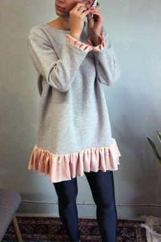 Greek Fashion, Satin Fabric, Flirting, Fashion Brands, Tunic Tops, Drop, Shoulder, Sweatshirts, How To Wear